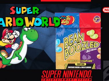 Super Mario Wold: Bean Boozled Challenge – Critical Thinking Show
