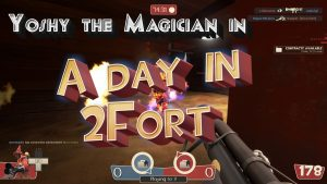 A Day in 2Fort (Team Fortress 2 Gaming Highlights)